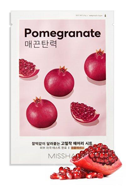 Missha Yaşlanma Karşıtı Nar Özlü  Yaprak Maske (1ad) Airy Fit Sheet Mask Pomegranate