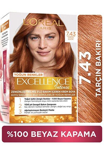 L'Oreal Paris Excellence Intense Saç Boyası 7.43 Tarçın Bakır