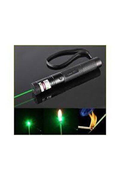 LAVERNA Green Laser Pointer Şarjlı Güçlü Yeşil Lazer Metal Kasa Yakıcı Lazer