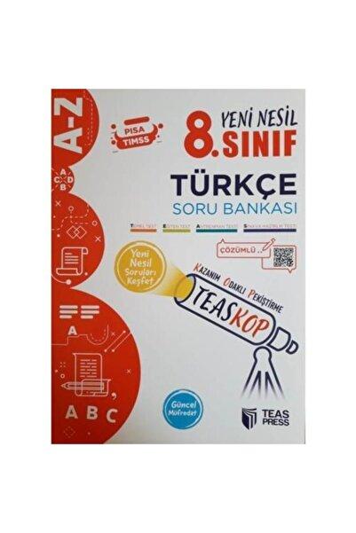Teas Press Teaskop 8. Sınıf Türkçe Soru Bankası