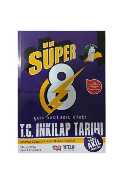 Nitelik Yayınları Nitelik 8.sınıf Yeni Nesil Süper T. C. Inkılap Tarihi Soru Bankası