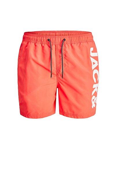 Jack & Jones Jack Jones Balı Swım Logo Erkek Şort 12183806