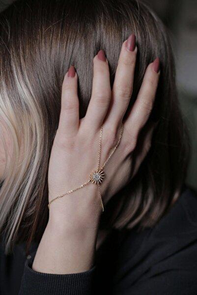 Mysoho Accessories Kadın Gold Rengi Sunny Şahmeran