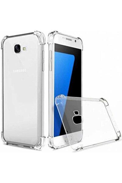 Samsung Galaxy J7 Prime Kılıf Köşe Korumalı Anti Şok Sert Silikon