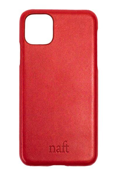 naft Apple Iphone 11 Pro Max (6.5 Inç) - Gerçek Deri Kılıfı -tarçın Kırmızı