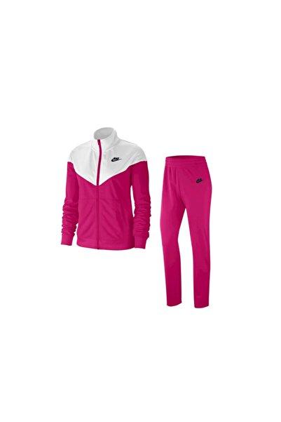 Nike W Nsw Trk Suit Pk Kadın Pembe-beyaz Günlük Stil Eşofman Takımı Bv4958-630