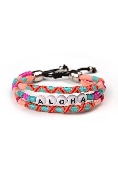 Happy-Nes Aloha Boncuklu Bilezik
