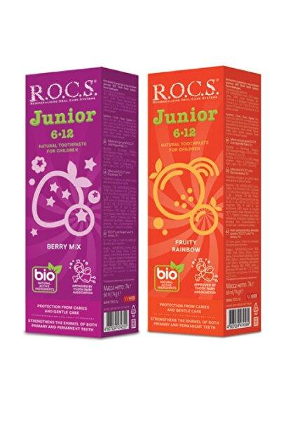 R.O.C.S. Junıor Florürsüz 6-12 Yaş 2li Karma Tad Seti - 74g X 2 Adet