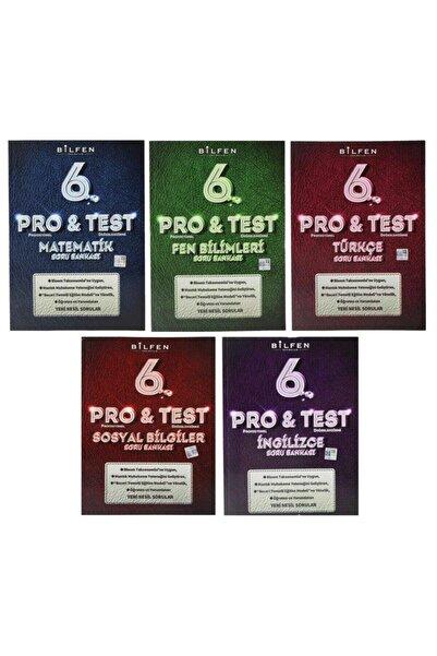 Bilfen Yayıncılık Bilfen 6. Sınıf Pro & Test Yeni Nesil Soru Bankası Seti 5 Kitap
