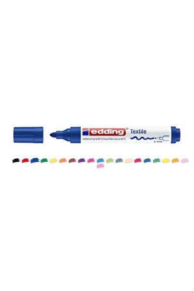 Edding Tekstil Markörü Kumaş Boyama Kalemi 2-3 Mm Mavi