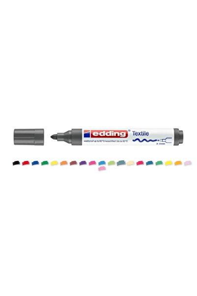 Edding Tekstil Markörü Kumaş Boyama Kalemi 2-3 Mm Açık Gri