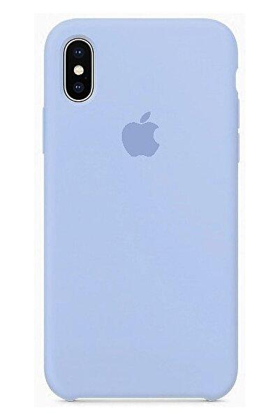 Ebotek Apple Iphone X Lila Silikon Kılıf