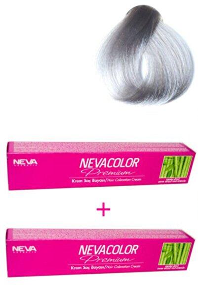 Neva Color 2 Adet Nevacolor 50g Tüp Boya 9.01 Gümüş