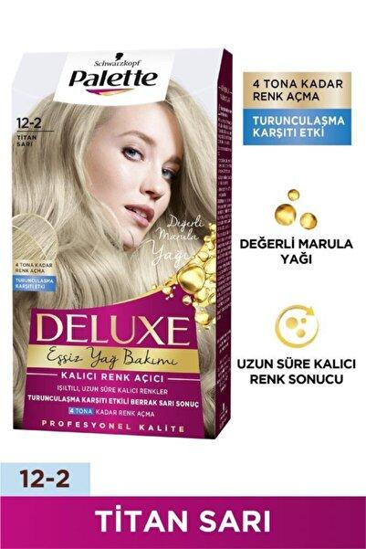 Palette Deluxe 12-2 Titan Sarı X 2 Adet