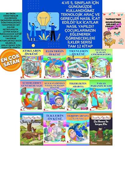 Ata Yayıncılık 4.ve 5.sınıflar Için Geçmişi Ve Geleceği Çocuklarımızın Eğlenerek Öğrenebileceği Rengarenk 12'li Set