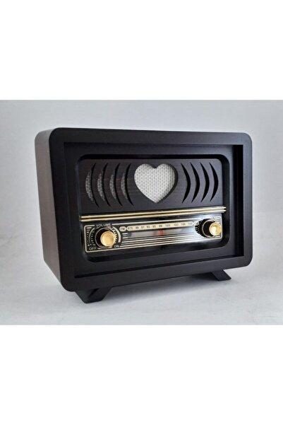 instatech Nostaljik Ahşap Kahve Rengi Radyolar Aşiyan 1 Modeli Manuel Adaptör