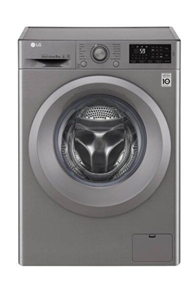 LG F2J5TNP7S A+++ 1200 Devir 8 kg Gri Çamaşır Makinesi