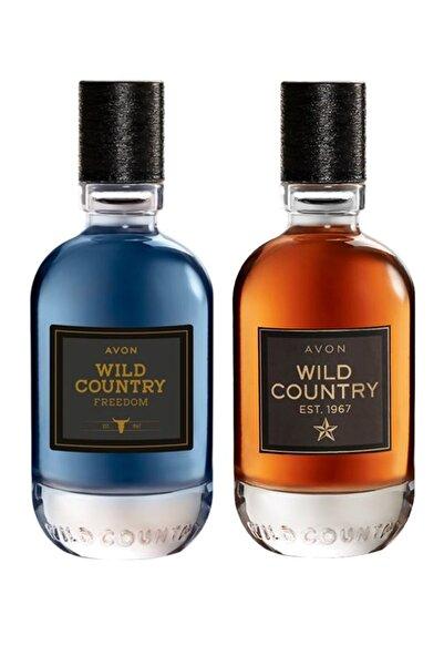 AVON Wild Country Edt 75 ml Erkek Parfüm + Wild Country Freedom Edt 75 ml Erkek Parfüm Seti 8681298708834