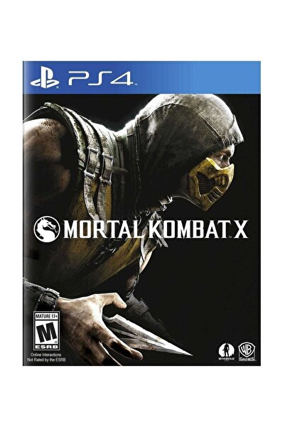 Warner Bros Mortal Kombat X Ps4 Oyun
