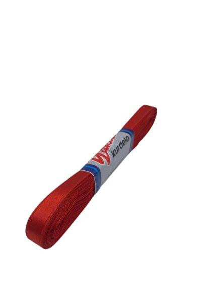 ecrin tuhafiye hobi Kırmızı Saten Kurdela 1cm 10mt