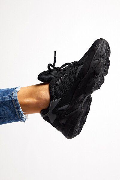 Tonny Black Siyah Unisex Sneaker ZHR-0