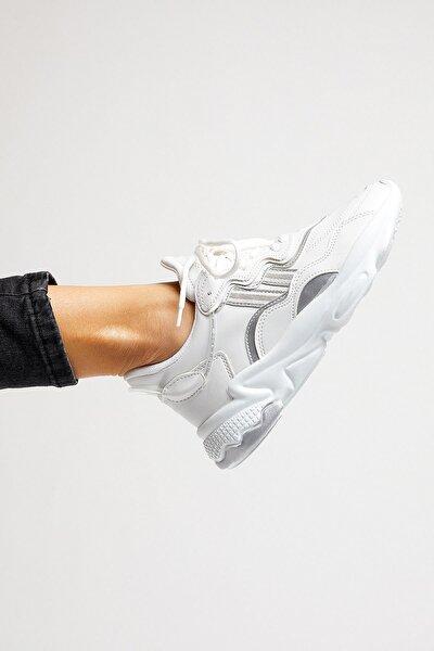 Tonny Black Unısex Spor Ayakkabı Beyaz Cilt Tb248 -> 40 -> Beyaz Cilt