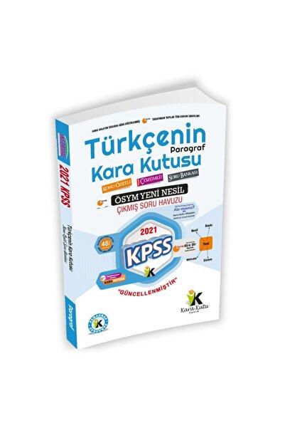 İnformal Yayınları 2021 Kpss Türkçenin Kara Kutusu Dijital Çözümlü Paragraf Konu Özetli Çıkmış Soru Bankası