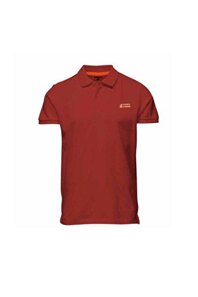 Jack & Jones Erkek Kırmızı Polo Yaka T-shirt