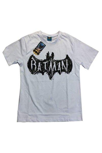 Batman (crayon) Beyaz Unisex Orijinal Lisanslı T-shirt
