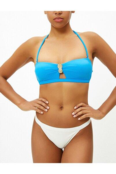 Koton Kadın Mavi Bikini Üstü