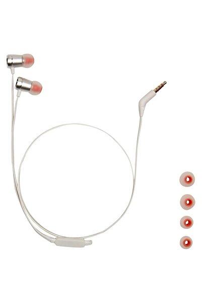 JBL T290 Gümüş Kablolu Yüksek Performanslı Kulak Içi Kulaklık
