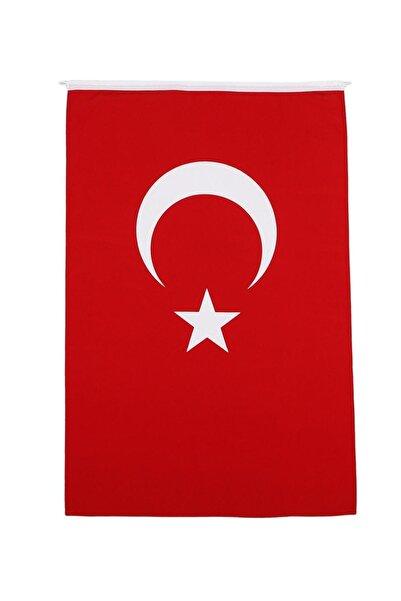 Retro Türk Bayrağı Alpaka Kumaş 120x180cm.