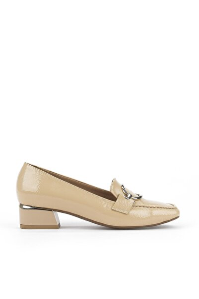 Ziya , Kadın Topuklu Ayakkabı 111415 Z314027 Ten