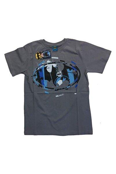 Batman (patch) Koyu Gri Unisex Orijinal Lisanslı T-shirt