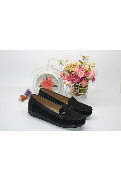 Barbour Kadın Siyah Bağsız Günlük Ayakkabı