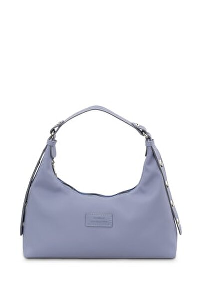 Kadın Mavi Baguette Çanta 205
