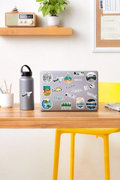 AR Sticker Travel Laptop Notebook Tablet Sticker Set 3