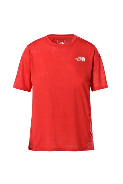 THE NORTH FACE Kadın Kırmızı Up With The Sun T-shirt - T9538xv33