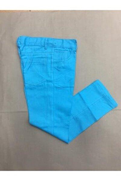 Erkek Çocuk Düz Renk  Keten Pantolon