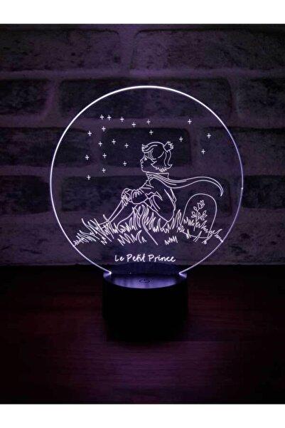 BY-LAMP Küçük Prens Le Petit Prince Lamba 7 Farklı Işık Rengi