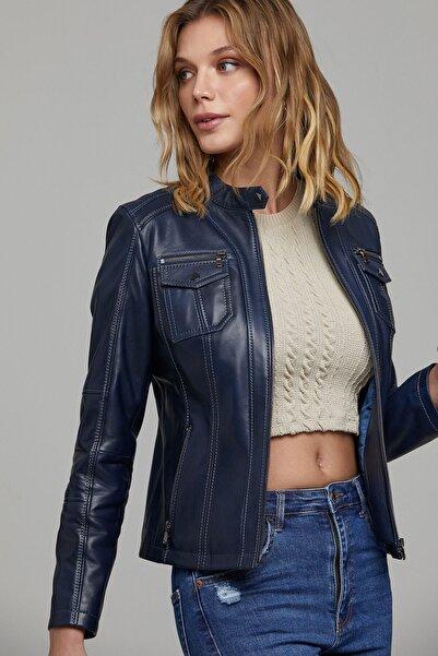 Derimod Celia Kadın Deri Ceket