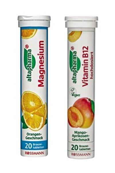 Altapharma Magnezyum + B12 İçeren Takviye Edici Gıda Efervesan