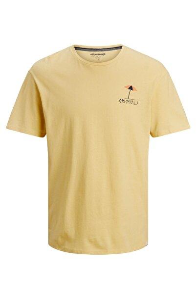 Jack & Jones Erkek Sarı Tshirt 12188974-22