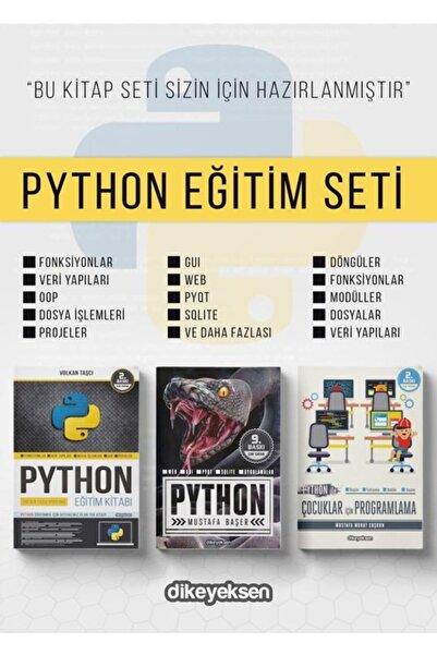 Dikeyeksen Yayıncılık Python Eğitim Seti (3 Kitap)