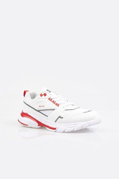 Avva Erkek Beyaz Garnili Spor Ayakkabı A11y8012