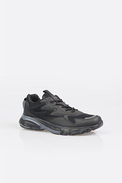 Avva Erkek Siyah Garnili Spor Ayakkabı A11y8011
