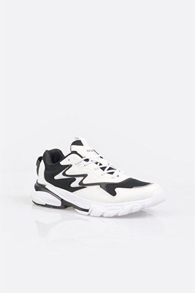 Avva Erkek Beyaz Garnili Spor Ayakkabı A11y8011