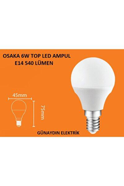 Osaka Light 6w Mini Top Led Ampul Günışığı 3000k E14 Ince Duy