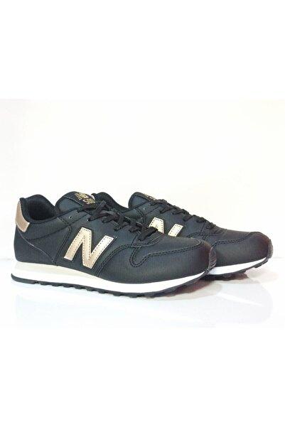 New Balance 500 Kadın Siyah Deri Spor Sneaker Ayakkabı Gw500tgbv2
