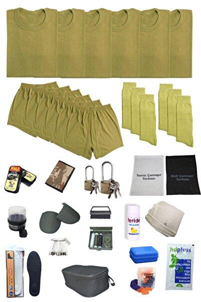 Silyon Askeri Giyim Askerlik Seti Acemi Asker 6'lı Temel Bedelli Asker